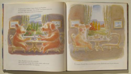 Margaret Wild & Ron Brooks, Les Couleurs de la vie, Pastel, 1997.