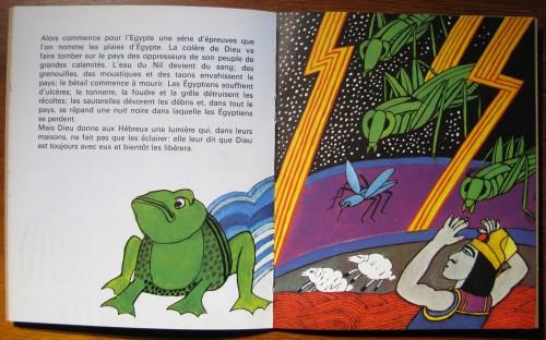 Moïse, A.M.Cocagnac, Editions du Cerf, 1967, Les Albums de l'arc-en-ciel, n°23.